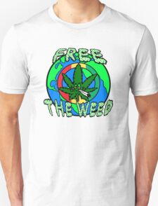 Free the Weed Unisex T-Shirt