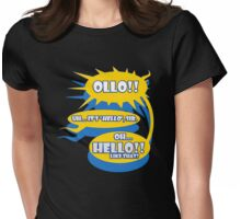 It's HELLO sir Womens Fitted T-Shirt