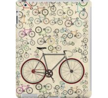 Love Fixie Road Bike iPad Case/Skin