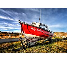 Lady Barbara High and Dry Photographic Print