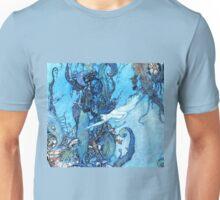 Mermaid Vintage illustration Unisex T-Shirt