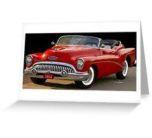 1953 Buick Convertible  Greeting Card