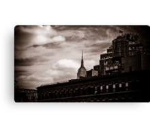 Empire State Peek-a-boo Canvas Print