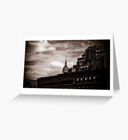Empire State Peek-a-boo Greeting Card