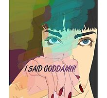 Mia Wallace, Pulp Fiction by dcmlsnddllrs