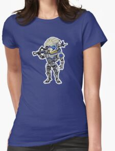 Turian Womens Fitted T-Shirt