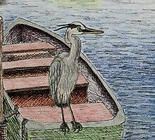 Great Blue Heron by jkartlife