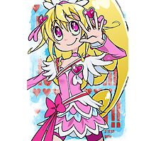 Magical Girl Collection #7 - Heart Photographic Print