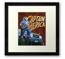 Captain Merica Framed Print
