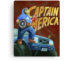 Captain Merica Canvas Print