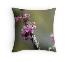 Behind the Glass Throw Pillow