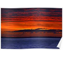 Sunset abstract Poster