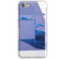 abstract purple and blue collage iPhone Case/Skin