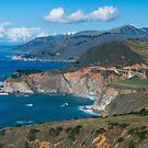 Route 1 Along Big Sur in California by Yukondick
