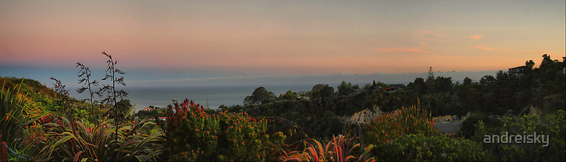 Panoramic view from Bellbird Lodge by andreisky