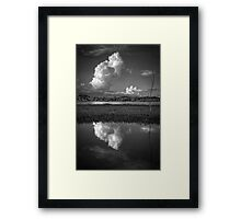 Cloud Patch 2 Framed Print