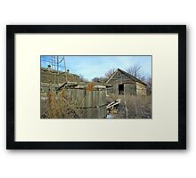 Old Watering Hole Framed Print