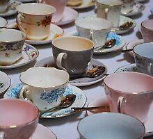 Vintage Tea Cups by Kay1eigh