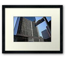 Downtown Houston.... Framed Print