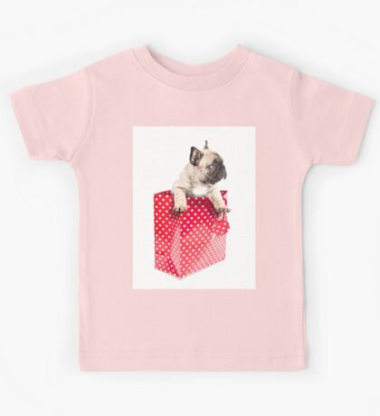 Gift Wrapped Frenchie Kids Tee