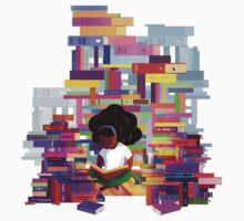 Mathilde - Bookworms United  Kids Tee