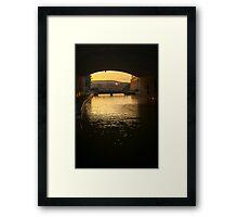 Ottawa sunset Framed Print