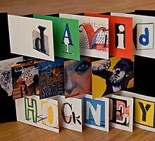 David Hockney - Artist's Book by Mary Ellen Garcia