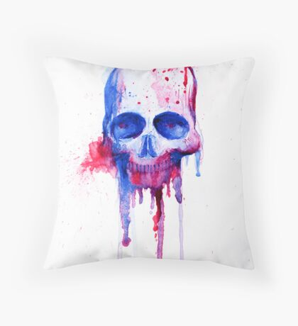 Arrow Through the Heart, Bullet Through the Head Throw Pillow