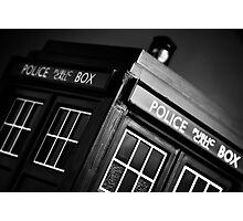 An Old Police Box. Photographic Print