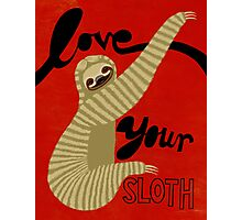 Love your Sloth Photographic Print