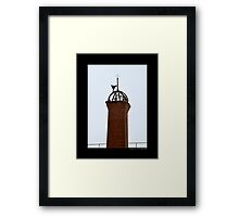 Nikola Tesla's Wardenclyffe Laboratory Building Tower - Shoreham, New York Framed Print
