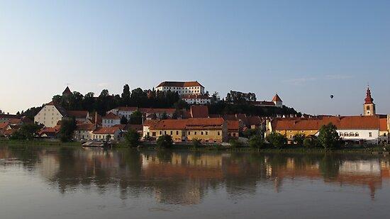 Ptuj castle by Dalmatinka