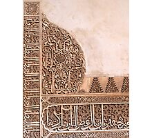 Alhambra Photographic Print
