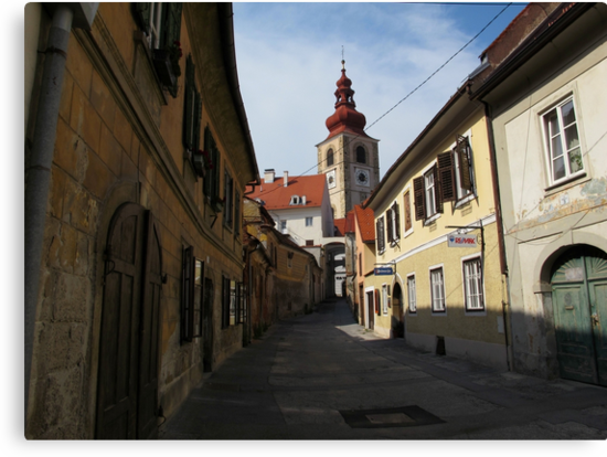 Streets of Ptuj by Dalmatinka