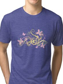 Fluttershy Swirl Tri-blend T-Shirt