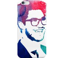 blue/green/pink glasses iPhone Case/Skin