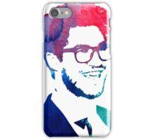 blue/green/pink glasses iPhone Case/Skin