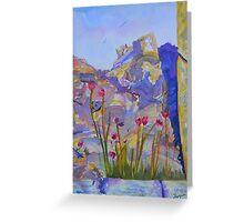 Ephesus May Flowers Greeting Card
