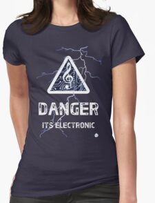 Electronica Womens Fitted T-Shirt