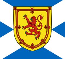 Flag of Scotland (Unofficial) Sticker
