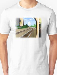Rails to the Unknown  T-Shirt