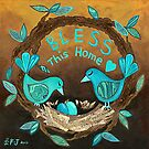 Bless This Home by Lisa Frances Judd~QuirkyHappyArt