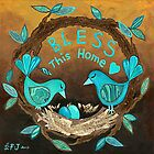 Bless This Home by Lisa Frances Judd ~ Original Australian Art