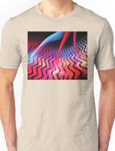 Ultraviolet Waves Unisex T-Shirt