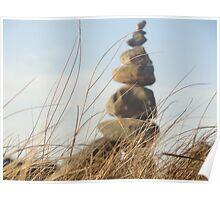 Warm Rocks Poster