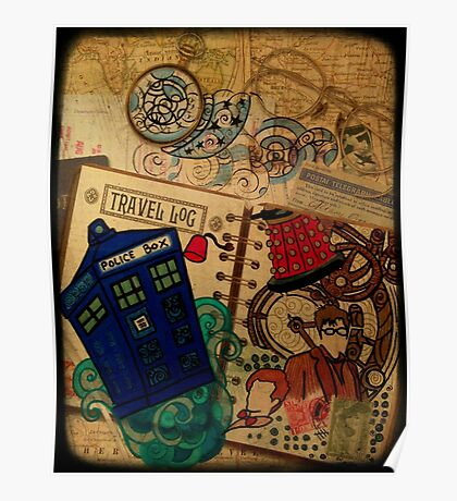 Doctor Who Travel Log  Poster
