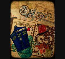 Doctor Who Travel Log  Unisex T-Shirt