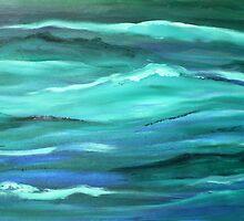 Ocean swell'... by Valerie Anne Kelly
