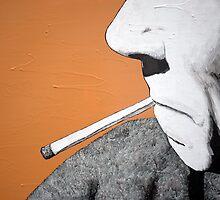 Smoking man by StudioTricktop