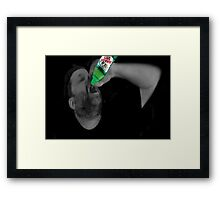 ✾◕‿◕✾ I'M DRINKIN CANADA DRY.... SEE UTUBE VIDEO I MADE WITH THIS HUGS ✾◕‿◕✾ Framed Print